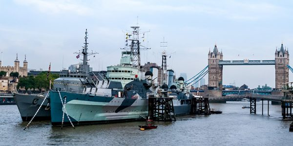 Five Eyes Connections HMS Belfast